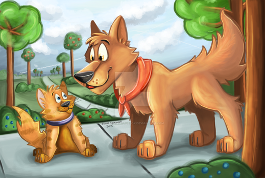 A Day At The Park by theKatandtheBox