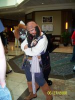 Capt'n Jack... and a furry... by Rennon-the-Shaved