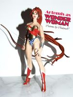 Artemis as Wonder Woman Custome 2012 by Chalana87