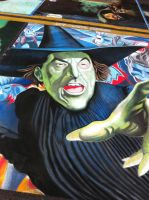 Wicked Witch by AmazingStreetPaint