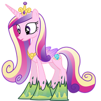 Cadance Trapped in Goop (Normal Cadance Ver.) by 90Sigma