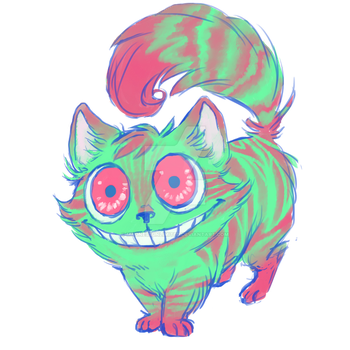 Cheshire Cat by MadnessUnlimited