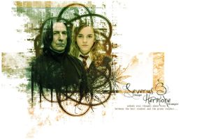 Severus and Hermione by AnbeliciousnA