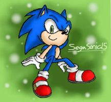 :Just Sonic: by SEGA-Sonic15