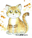 Sand Cat by Sandy--Apples