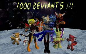 1000 Deviants by HectorNY