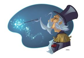 Magic Mustache by erosell