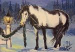 ACEO 'Christmas Helper' by annieoakley64