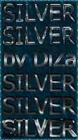 6 silver text styles by DiZa by DiZa-74