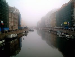 Fog on Neva by m4598