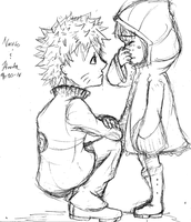 NaruHina-Little Hinata-Dont Cry by NelNel-Chan