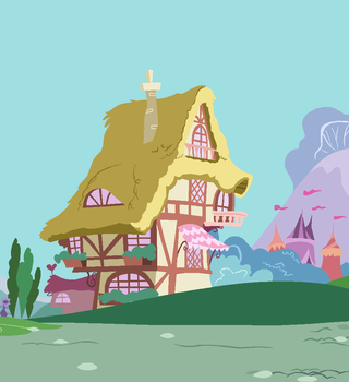 Ponyville Cottage 02 by SelenaEde