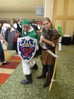 Link and Legolas by scoldingspirit84