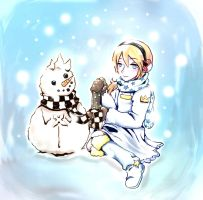 Contest : Snow Snow Namine by jenrina136