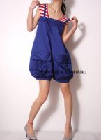 Blue Balloon Playsuit Rompers5 by yystudio