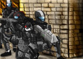 Halo: Feet first into hell by Guyver89