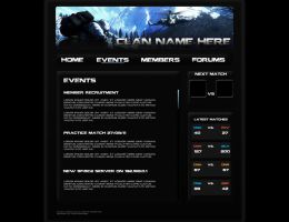 Bad Company 2 Clan Webpage Pg2 by BrotherPrime