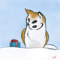Happy Holiday, Owl Griffin by RobtheDoodler