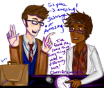 The Doctor In Nightvale by SylarSushiCat