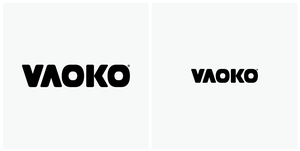 VAOKO: Logotype by woweek