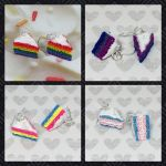 Pride Cake Earrings by okapirose