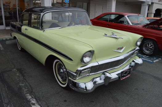 1956 Chevrolet Bel-Air Sedan IX by Brooklyn47