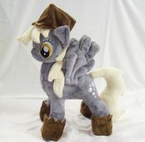Derpy Hooves w/ Removable Bags Custom Minky Plush by ponypassions