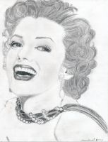 Marilyn Monroe by animelove1234