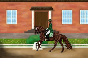 RAK BE Dressage #025 by DekoWolfAtHome