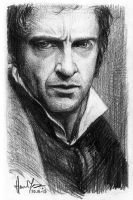 sketch - Valjean by nitefise