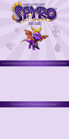 Spyro the Dragon Meme -BLANK- by TheMoonfall