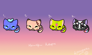 CHEAP Kitten Adopts!~ by LaceyBells