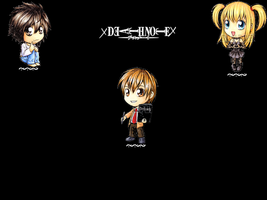 Death Note Wallpaper by manganime93