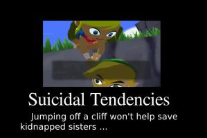 Link's Suicidal Tendencies 1 by TheShadowEclipse841