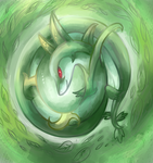 Serperior used Leaf Storm by Undeniable-beliefs