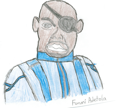 Nick Fury by funmiproductions