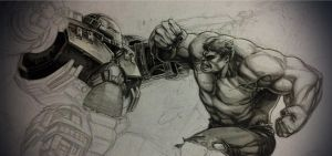 HB vs HULK (wip) by grandizer05