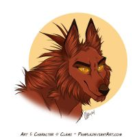 Demon Headshot by Pample
