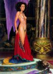 Salome  oil on wood  61 cm x 46 cm by scottflament