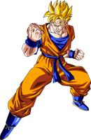 Super Saiyan Future Gohan Version 2 by BrusselTheSaiyan