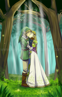 Commission-ZeLink by KeysaMoguri