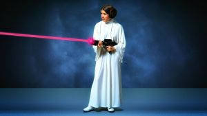 Carrie Fisher Princess Leia XLIII by Dave-Daring
