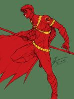 Sketch - Red Robin by tryvor