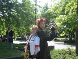 AE 2008- kingdom hearts by Moonslife