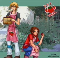 Savers - Masaru Tohma Tomato by splashgottaito