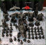 Dust Tactics Axis Army Update 2015 by Granamir by Granamir