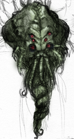 Cthulhu Head Sketch by SnoopyMD