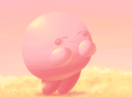 Colour Palette and  Expression - Kirby by Chenanigans