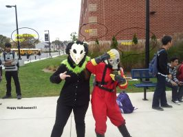 2014 Halloween at John Champe high by BlueEyes9