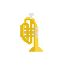 Pixel China Sax by CaptainToog